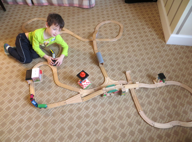 Four Seasons Boston State Suite Review - Plenty of Room for Train Tracks!