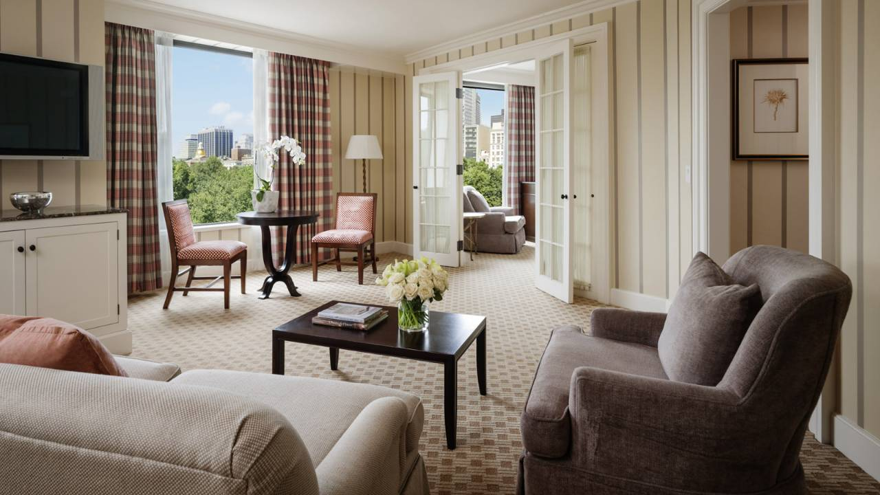 Four Seasons Boston State Suite Review