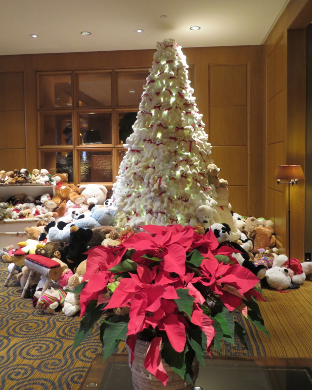 Four Seasons Boston Teddy Bear Tree
