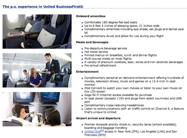 Free Access to United Club with a United Premium Service Flight