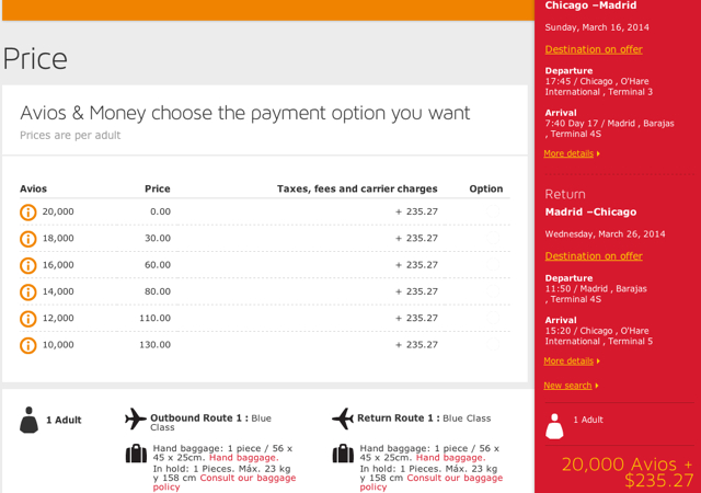 Iberia: 50% Off Awards Booked by January 7 - Chicago to Madrid