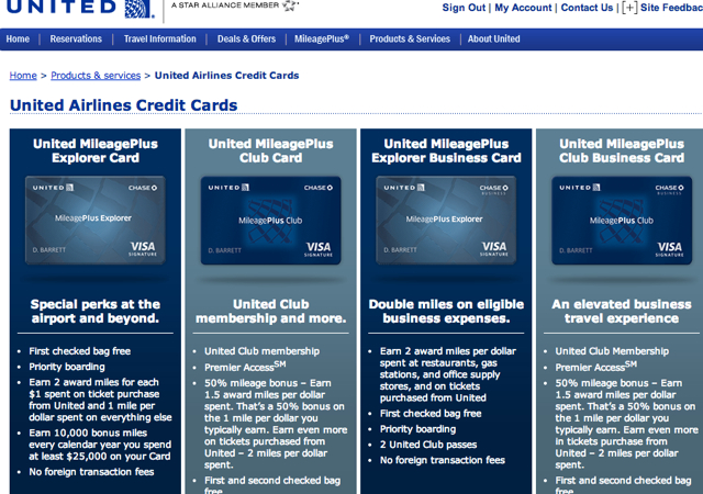 50K United MileagePlus Business Card: Click First on the United MileagePlus Club Business Card