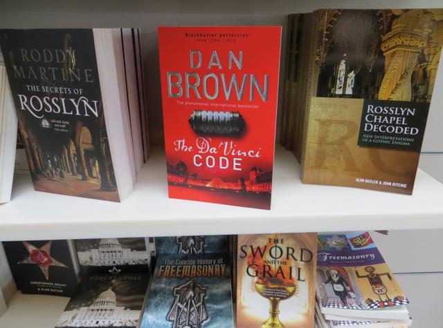 Rosslyn Chapel - Da Vinci Code by Dan Brown