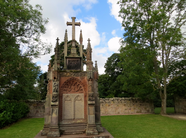 Grave of Francis Robert, Fourth Earl of Rosslyn