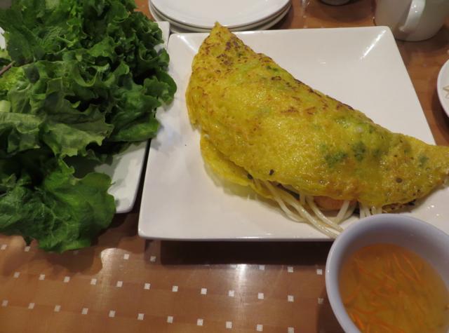 Ninh Kieu NYC Restaurant Review - Banh Xeo Vietnames Pancake