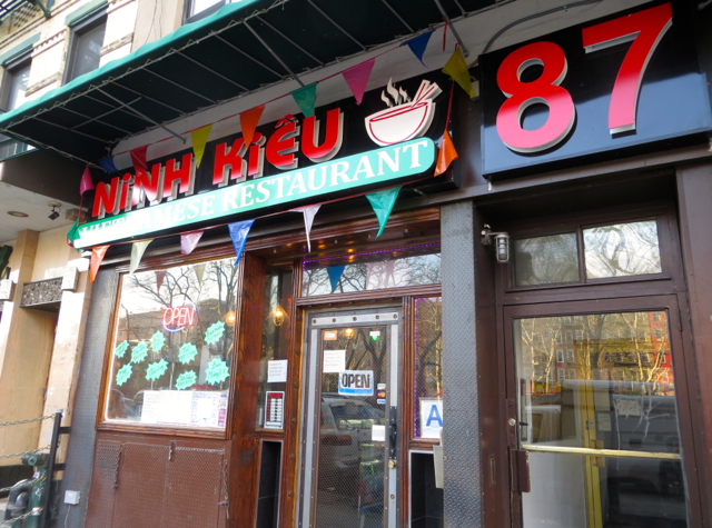 Ninh Kieu NYC Review - Restaurant