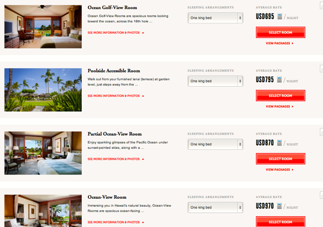 Four Seasons Hualalai Preferred Partner - Best Deal in Late May