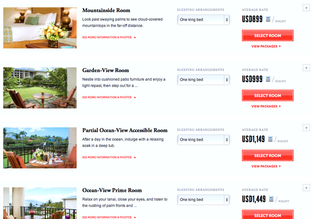 Four Seasons Maui Preferred Partner - Higher Rates in Late May