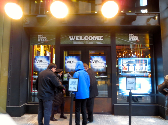 Chase VIP Lounge NYC for United Card Holders - Super Bowl Week