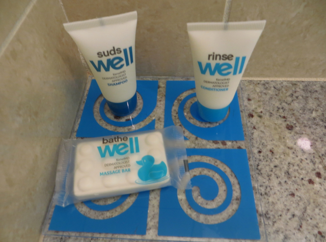 Hyatt House Denver Airport Hotel Review - Well Bath Amenities