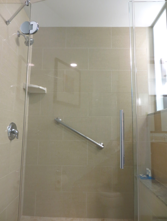 Hyatt House Denver Airport Hotel Review - Studio Suite Bathroom Shower