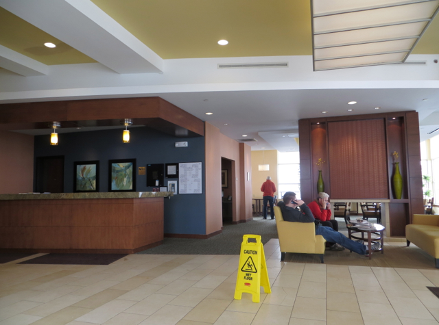 Hyatt House Denver Airport Hotel Review - Lobby and Reception