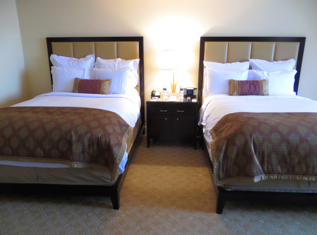Ritz-Carlton Denver Hotel Review - Deluxe Room with 2 Double Beds