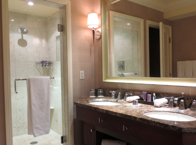 Ritz-Carlton Denver Hotel Review - Club Deluxe Bathroom