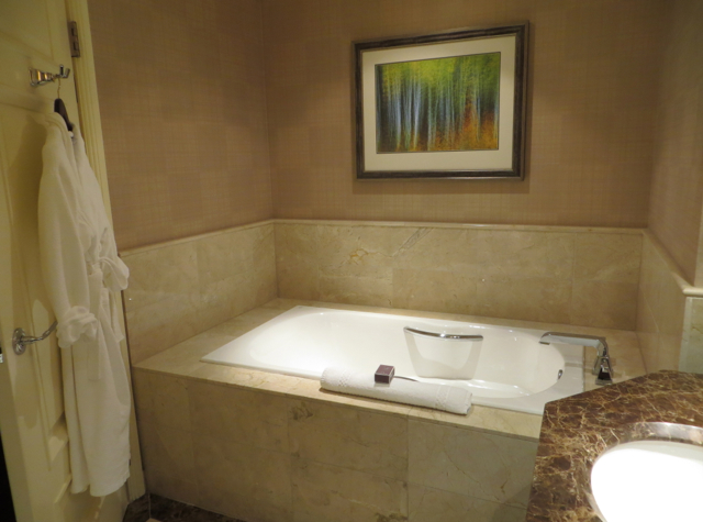 Ritz-Carlton Denver Hotel Review - Club Deluxe Bathroom Bathtub