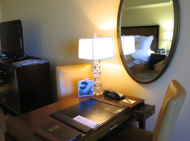 Ritz-Carlton Denver Hotel Review - Work Desk