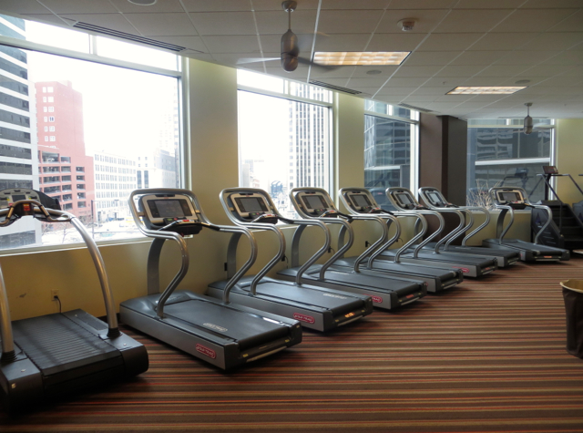 Ritz-Carlton Denver Hotel Review - FORZA Health Club - Fitness Center