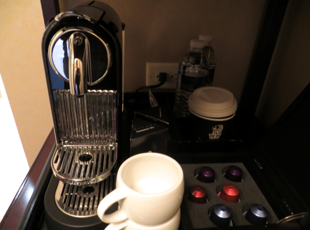 Ritz-Carlton Denver Hotel Review - Nespresso Machine