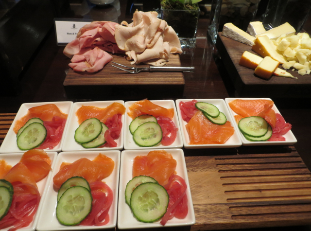 Club Lounge, Ritz-Carlton Denver - Breakfast - Smoked Salmon, Meats, Cheeses