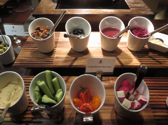 Club Lounge, Ritz-Carlton Denver Review - Evening Crudites, Nuts
