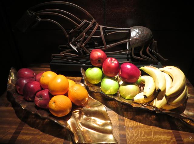 Club Lounge, Ritz-Carlton Denver Review - All Day Fruit