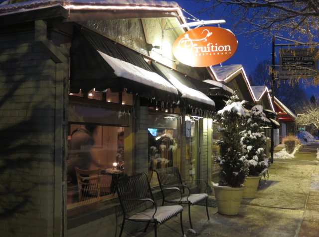 Fruition Denver Restaurant Review - 1313 East 6th Avenue