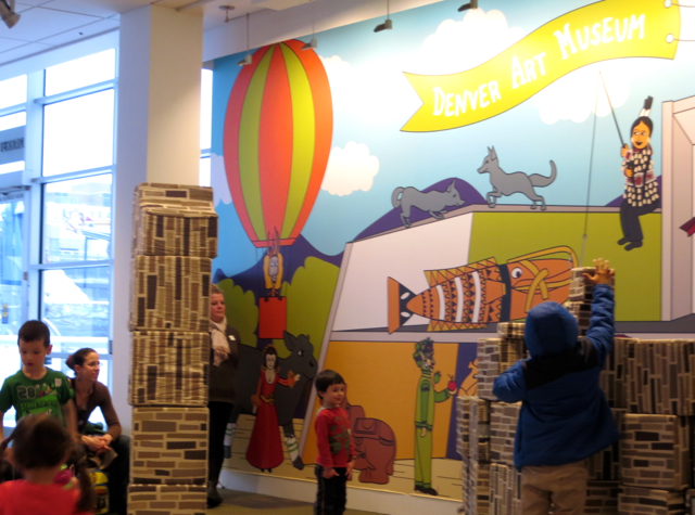 Top 7 Things to Do in Denver with Kids - Building with Blocks, Denver Art Museum