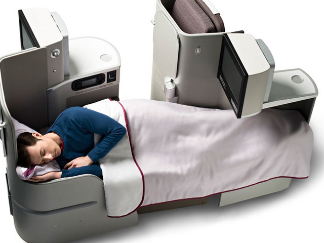 First Class Award Flights to Europe with Frequent Flyer Miles - Iberia Business Class
