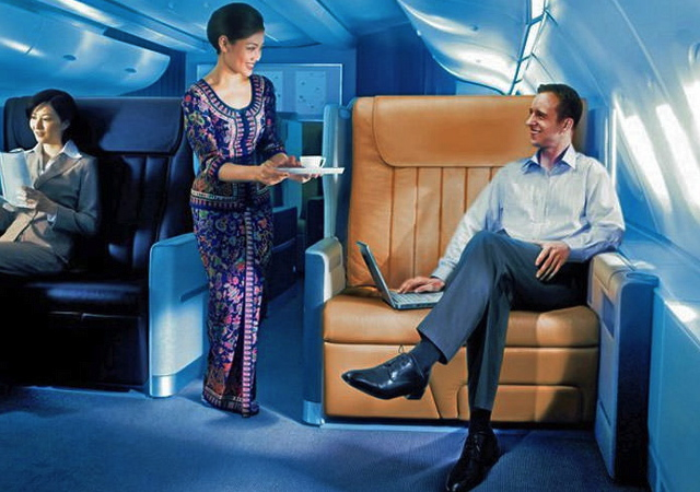 First Class Award Flights to Europe with Frequent Flyer Miles - Singapore Business Class