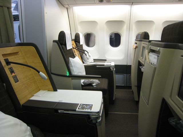 First Class Flight Awards to Europe with Frequent Flyer Miles