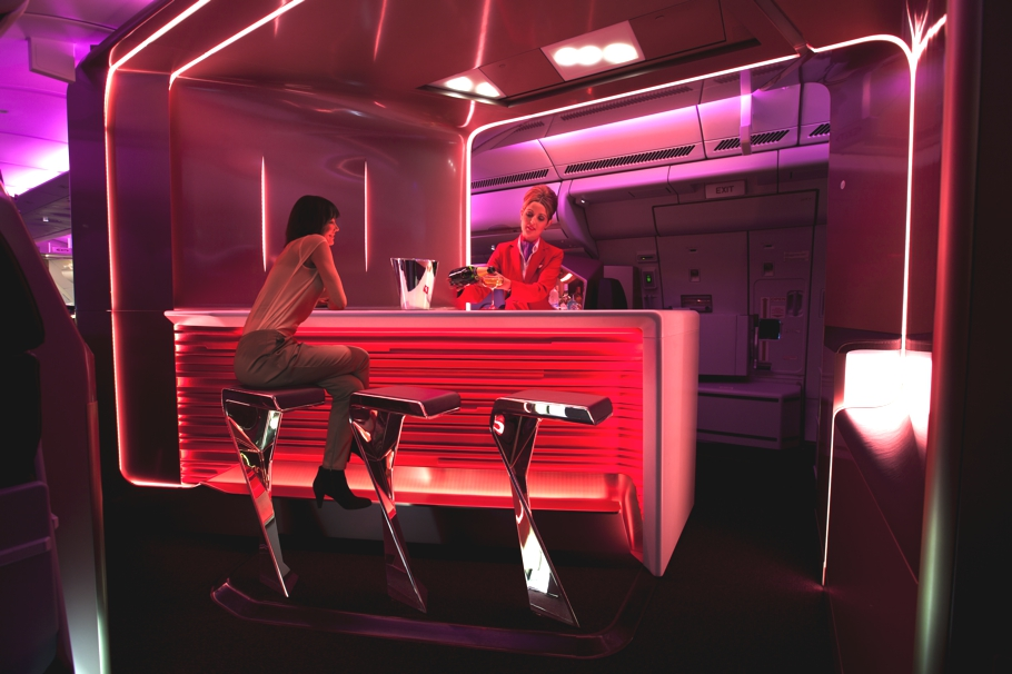 First Class Flight Awards to Europe with Frequent Flyer Miles - Virgin Atlantic Upper Class