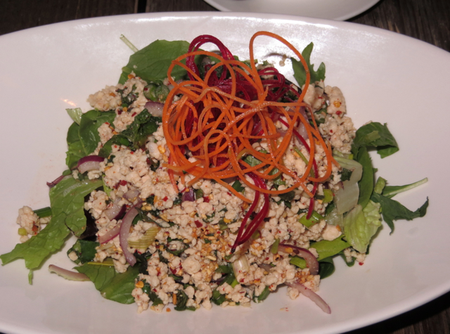 Up Thai NYC Restaurant Review - Larb Gai