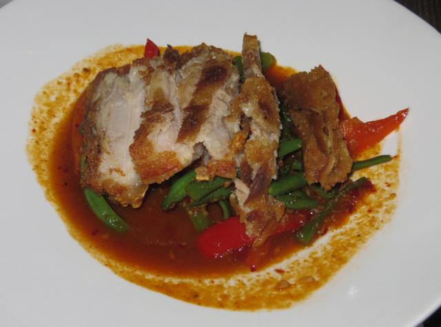 Up Thai NYC Restaurant Review - Moo Krob Prig Khing