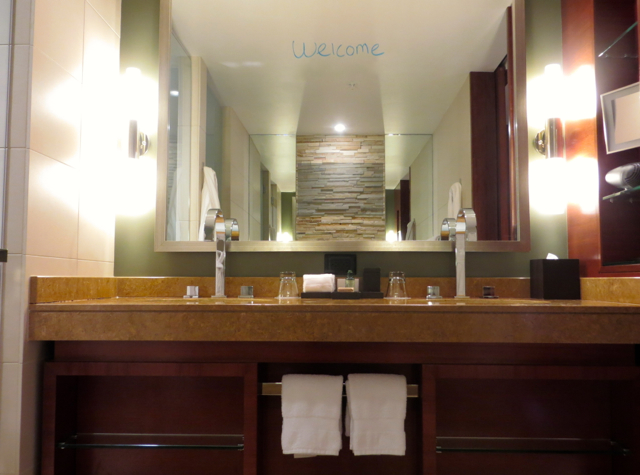 Four Seasons Denver Hotel Review - Bathroom with Dual Vanities