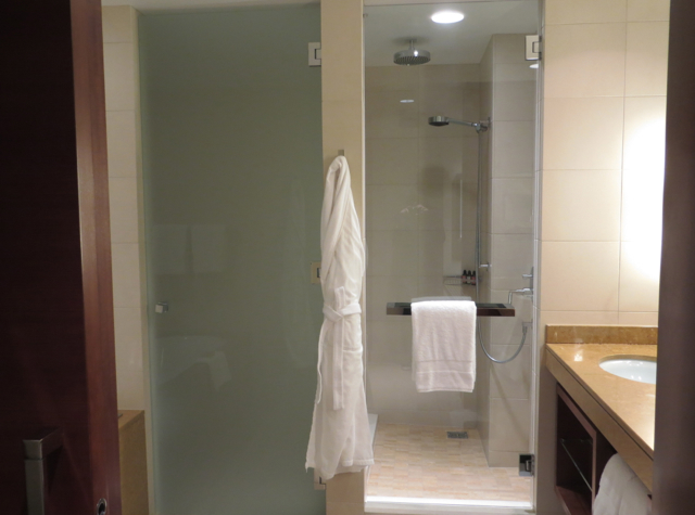 Four Seasons Denver Hotel Review - Rain Shower