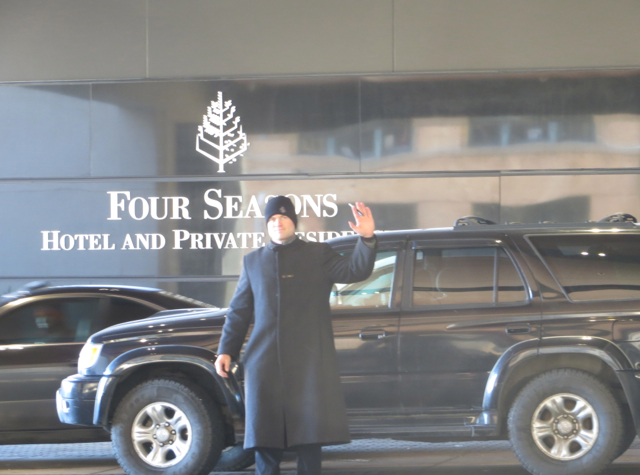 Four Seasons Denver Hotel Review - Complimentary House Car Service