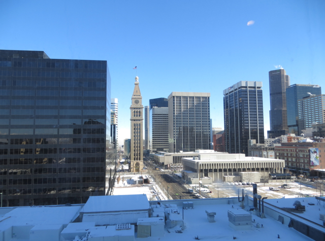 Four Seasons Denver Hotel Review - View from Deluxe Room