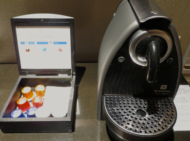 Four Seasons Denver Hotel Review - Nespresso Machine