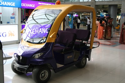 Thai Airways golf cart