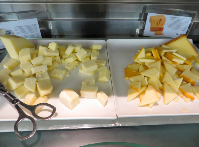 British Airways Galleries Lounge JFK Review - Cheese