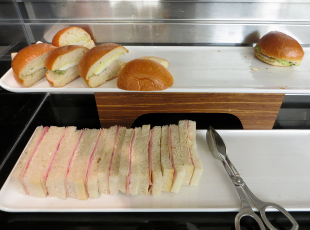 British Airways Galleries Lounge JFK Review - Sandwiches