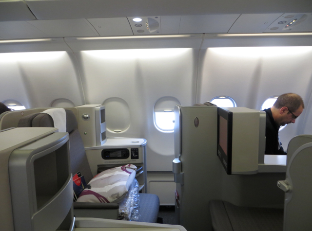 Iberia New Business Class A330-300 Review - Business Plus Cabin