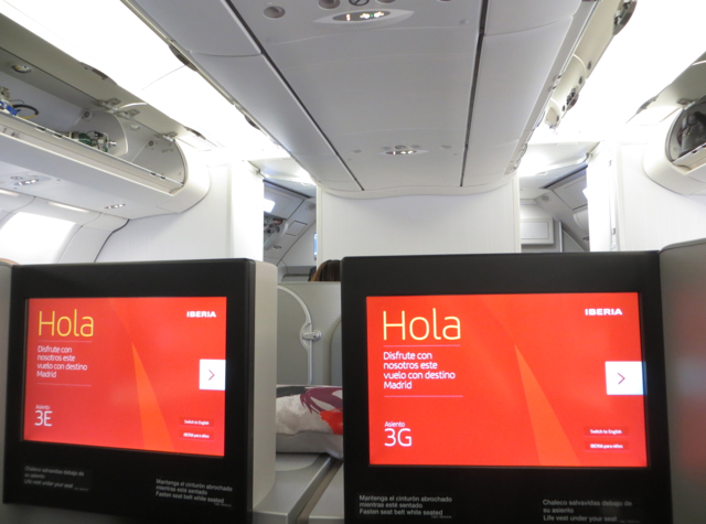Iberia New Business Class A330-300 - IFE