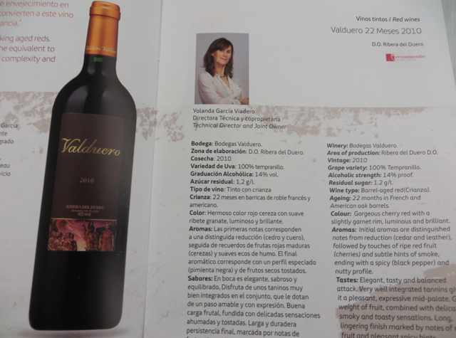 Iberia New Business Plus A330-300 - Wine of the Month