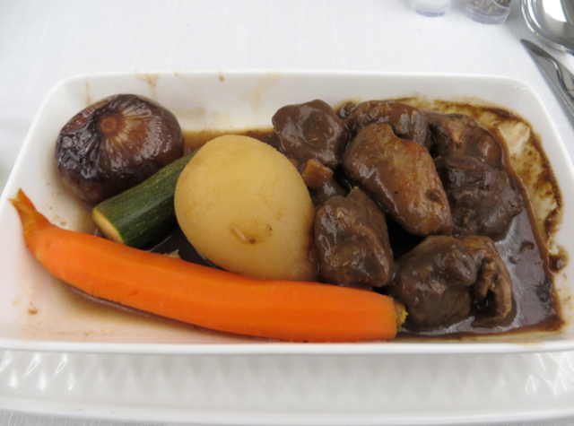 Iberia New Business Class A330-300 Review - Duck in Porto Wine Sauce