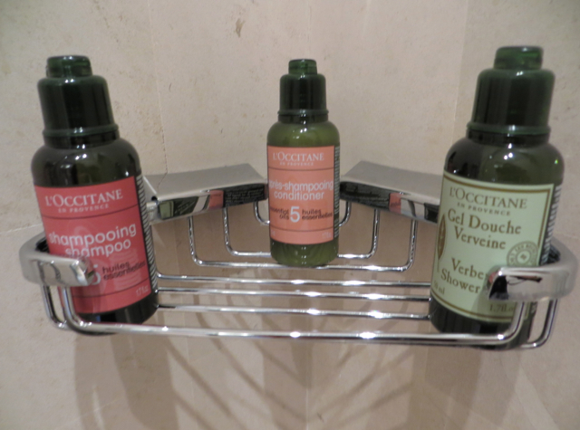 Four Seasons Marrakech Review - L'Occitane Bath Amenities