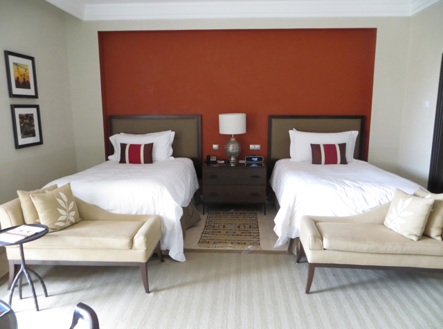 Four Seasons Marrakech Review - Premier Room with Two Double Beds