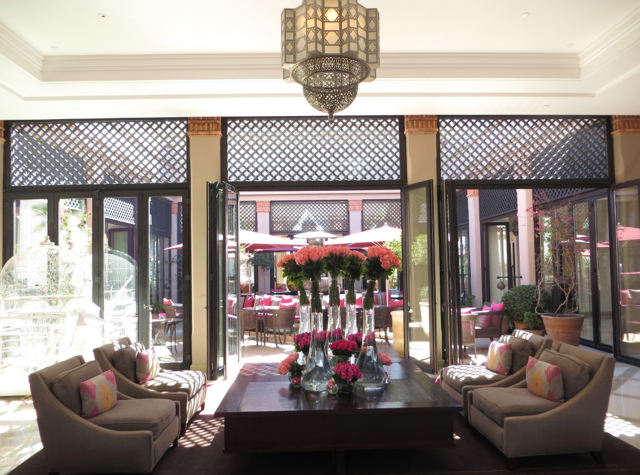 Four Seasons Marrakech Review - Lobby