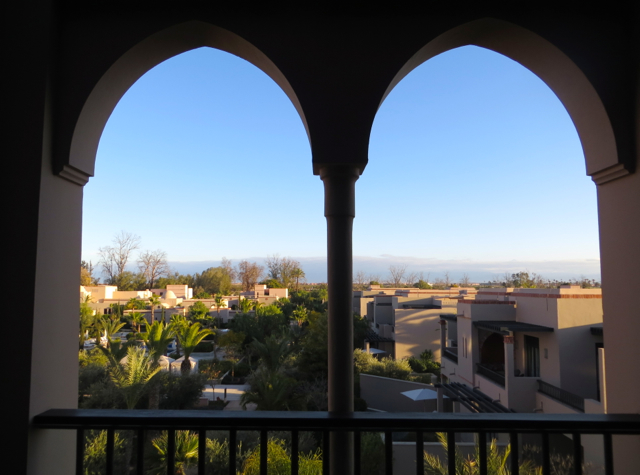 Four Seasons Marrakech Review - View from Premier Room