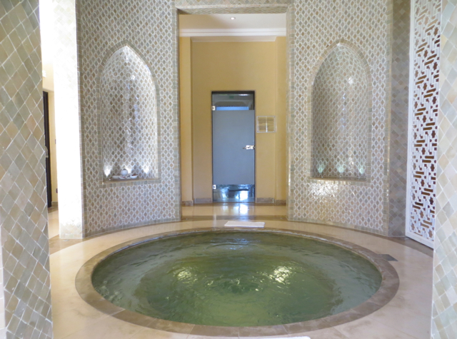 Four Seasons Marrakech Review - Spa Whirlpool